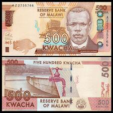 Malawi 500 Kwacha, 2014, P-61 NEW, UNC