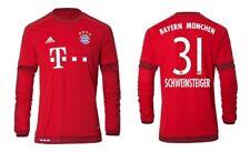 Trikot Adidas FC Bayern 2015-2016 Home Langarm - Schweinsteiger 31 [164-3XL]