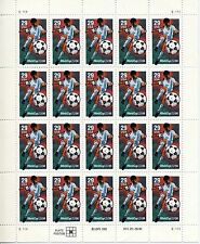1994  - World Cup USA  94  -  Mint Sheet  - Scott  # 2834  - Pane of 20 -  29c