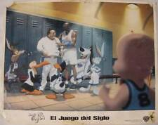 Michael Jordan and Wayne Knight in Space Jam 1996 vintage lobby card Leo16
