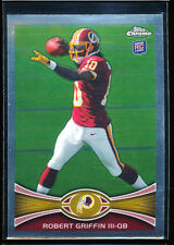 ROBERT GRIFFIN RG3 2012 TOPPS CHROME RC ROOKIE CARD *WASHINGTON REDSKINS* MINT
