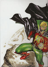 LITHOGRAPH ALAN SCOTT LANTERN CARLOS PAGULAYAN SIGNED LIMITED TO 250 COPIES!!