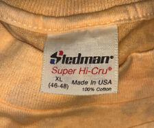 New listing Vtg 90s Stedman Blank Clr Change Single Stitch Summer Cotton T Shirt Size (L/xL