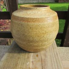 Large Welsh Studio Pottery Vase/Urn