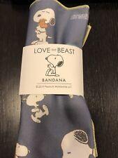 New listing Nwt Love Thy Beast X Peanuts Bandana Size Is Grande 20�x20�