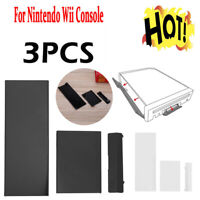 3pcs Memory Card Door Slot Cover Lids kit Replacement for Nintendo Wii Console