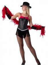 Dangerous Dance Costume Flapper Dress Gloves Ice Skating Clearance Child X-Small