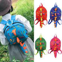 Children Kids Unisex Cute Cartoon Dinosaur Bookbag Outdoor School Backpacks Sets