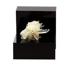 Quartz cristal de roche et Siderite. 59.1 ct. Le Trou des Chasseurs, Vizille