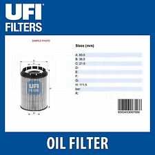 To fit VW Audi Ford (1995-2015) *New* Oil Filter UFI 2501000