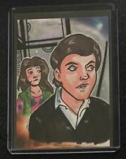 Upper Deck Firefly The Verse 1/1 Sketch Card Simon Tam and Kaylee Mary Bellamy