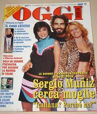 OGGI=2004/49=SERGIO MUNIZ=SARAH BIASINI=TONINO GUERRA=CINZIA TH TORRINI=