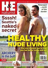 H&E naturist October 2017 magazine nudist health efficiency