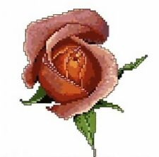 Memories Pink Rose Cross Stitch Chart Pattern The Silver Lining