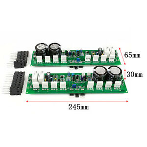 One Pair PR-800 1000W Class A /AB NJW0302 NJW0281 HIFI AMP Dual Amplifier Board