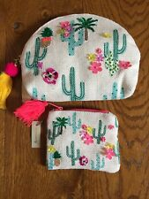 Accessorize Cosmetic Bag And Purse Set - NWT RRP £18.99