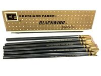 6 Vintage Eberhard Faber Blackwing 602 Pencils+ Original Box  unsharpened  RARE