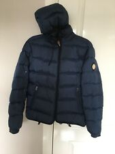 Men's Replay Down Filled Coat/jacket. Navy Blue. Small