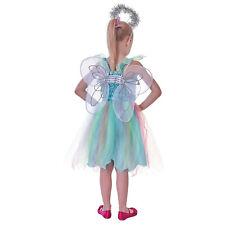 Kids Girls Angel Fairy Wings Halo Fancy Dress Accessories Costume Christmas