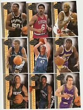 2008 Basketball UD 20th anniversary hobby lot of 9,Love(RC),Dr.J,Magic,Rodman...