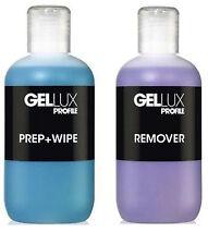 Salon System Gellux Profile UV/LED Gel Systems Prep + Wipe & Remover 250ml
