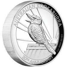 Australien 1 Dollar 2020 - Kookaburra - 30 Jahre - High Relief - 1 Oz Silber PP