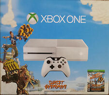 New! Microsoft Xbox One Console Sunset Overdrive Special White Edition Bundle!