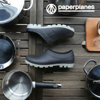 Paperplanes Mens Chef Kitchen Slip Resistant Safety Rubber Occupational Shoes