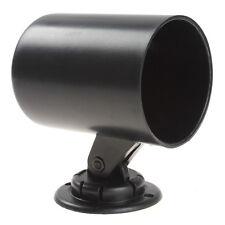 2Inch 52mm Universal Plastic Car Gauge Cup Holder Pod Black Car Mount Adapter