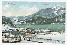 AK St. Gilgen - Winterbild, Panorama #5036