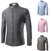 New Fashion Men's T-Shirts Luxurious Long Sleeve Leisure Dress Casual Shirts