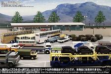 [Hakoniwagiken DS64-001 1/64] Diorama Sheet SA/PA car parking(900x600mm) TLV etc