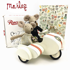 Maileg Wedding Mice Couple W/ White Scooter in Box Houston Ship GIFT 14Sets Left