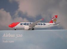 Herpa Wings 1:500 Airbus A320 Edelweiss Hb-Iju 528986 Modellairport500