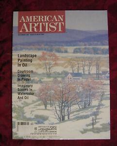 AMERICAN ARTIST December 1995 Tully Michael Filmus David Lussier Jennine Hough