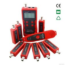 Multipurpose Network Cable Tester and Tracer Cat 5-7 & ethernet 8-Remotes