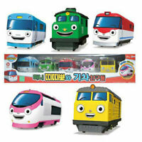 Titipo and Friends Pullback Gear Toy Mini 5 Trains Characters