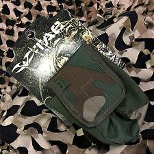 New Valken V-Tac Molle Vest Grenade Smoke Pouch - Woodland Camo