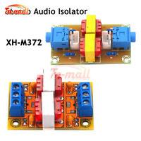 XH-M372 Stereo Audio Isolator Ground Common Suppression Noise Insulation
