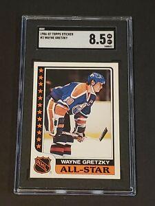 1986 Topps Sticker #3 Wayne Gretzky Low Pop
