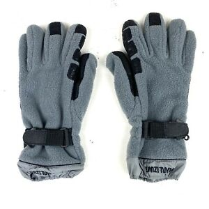 Pearl Izumi Winter Fleece Cycling Gloves Black And Gray Size Men's Large