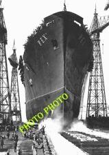 PAQUEBOT LE REX   Lancement 1931    OCEAN SHIP LINER    17x13   ATLANTIQUE SHIP