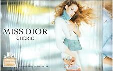 ▬► PUBLICITE ADVERTISING AD Parfum Perfume Miss DIOR Chérie 4 pages  2005