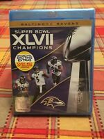 NFL: Super Bowl XLVII Champions - Baltimore Ravens (Blu-ray Disc, 2013)