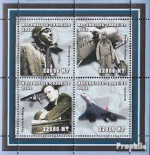 Mosambik 2508-2511 Velletje postfris MNH 2002 Persoonlijkheden