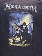 True Vintage MEGADETH Concert Shirt XL 1992 Original Rare Concert T Shirt Metal