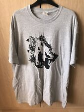 Mens Size XL Grey Wolf Knight GoT Short-Sleeve T-Shirt Gildan Great Condition