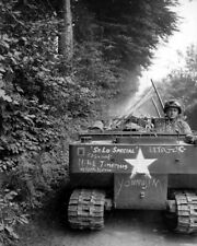A Soldier Drives A M 29 Weasel Down A French 8X10 Photo Print 28012002610