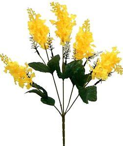 Lilac Bush Artificial Silk Flowers Wedding Bouquet Centerpieces Decor Fake Faux