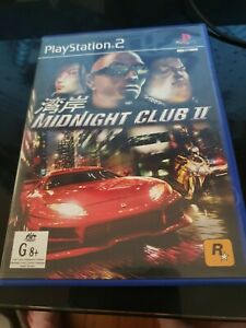Midnight Club II 2 sony Playstation 2 ps2 Complete with Manual Free Postage pal